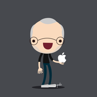 Steve Jobs by StepPuki