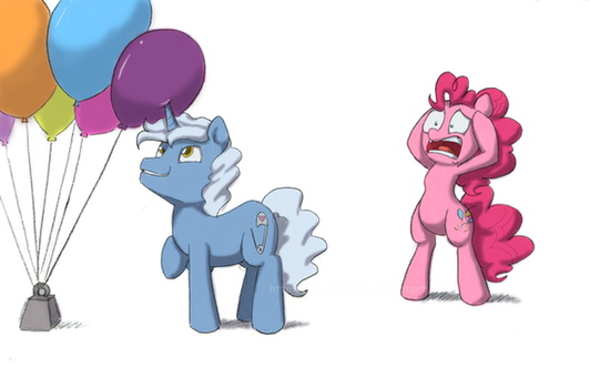 Not the balloons by FEuJenny07