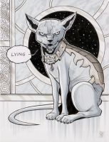 Lying Cat from Saga by calslayton