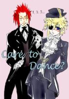 Care to dance artwork by KingdomHeartBreakers