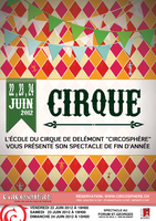 affiche cirque / posters show circus by 8temps