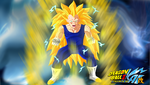 Vegeta Super Sayan 3 by HayabusaSnake