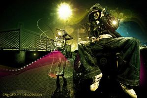 Hip Hop by CkyGFX