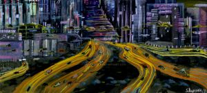 Augmented City by BasquesArt