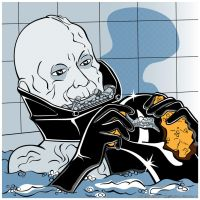 Star Wars PopArt - Vader Wash by Bergie81