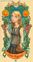 Luna Lovegood by uialwen