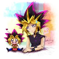 That's not a cupcake Yugi... by YL-17
