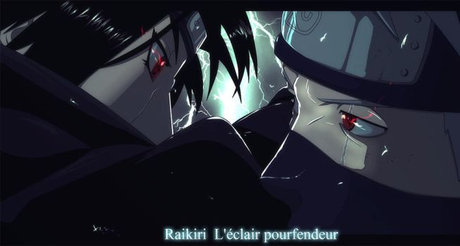 Kakashi vs Itachi by Lord-Nadjib