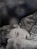Chad - Portrait of a friends son by Schmedly
