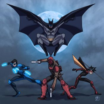 Bat Family Revised by EricGuzman