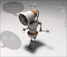 Bother robot by Romantic-man