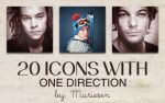 Icons: One Direction set3 by Mariesen