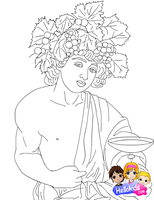 Dionysus by Writer-Colorer