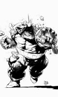 Juggernaut Inks - Finch by Tom-S-Colors