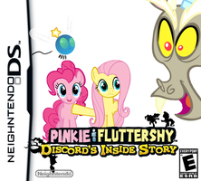 Pinkie and Fluttershy: Discord's Inside Story by nickyv917