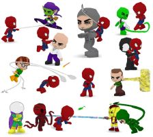Amazing Spiderman Buddypoke by Ben2DJammin