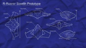 Blueprints R-Roarer stealth by reach-designs