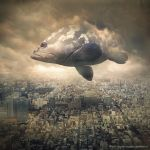 sky traveler by evenliu