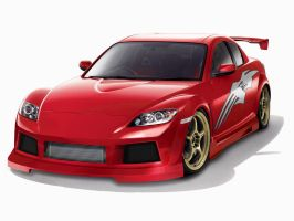 Rin's RX-8 by Ditto-kun