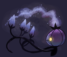 [Pokeddexxy] Day 09 - Chandelure by ChocoChaoFun