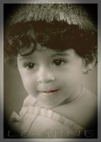 my baby in her first birthday by aboushady81