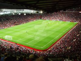 Old Trafford- Full House Night by Carlososososo