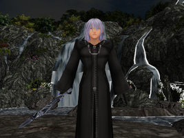 Riku Organization Cloak with Facials and DL by Realm1993