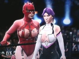 WWE 2K14: Evil And Noble Rose by TheRumbleRoseNetwork
