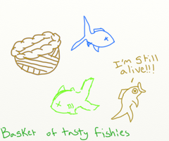 A Basket of Tasty Fish by eagle564