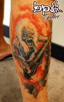 EDDY , IRON MAIDEN by BPS-TATTOO
