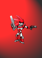 Warlord Red Saber by Abbadon771