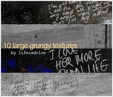 TEXTURES 50: LARGE GRUNGY by lifeisdolce