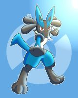 Pokemon Movie 20 Lucario by LucarioOcarina