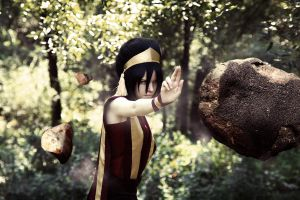 Earthbending - Toph Bei Fong, avatar by TophWei