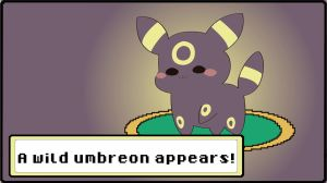 Cute Lil' Umbreon by ShinSoulThief
