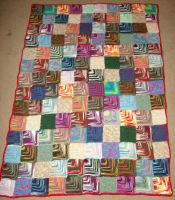 Variegated yarn car blanket 2 by CherokeeCampFireGirl