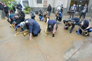 2014 Honk Festival, Chaotic Noise In Silence by Miss-Tbones