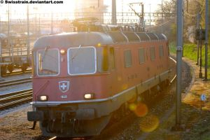 SBB Re 6-6 11648 by SwissTrain