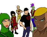 Young Justice: Original Redesign by AdamGrowells