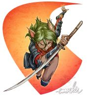 Lime Rind: The Rogue Samurai by emmshin
