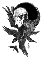 Raven Lord by StoicSquid