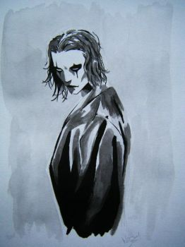 The Crow by Higgie-Baby