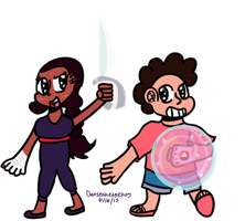 The Sword and Shield by Dansenhedgehog