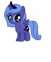 Filly Luna by Dragonsong3