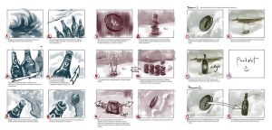 A storyboard for 'Baltika' by EldarZakirov