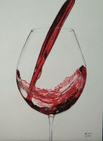 Wine Glass by FooVio