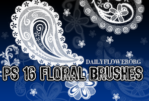 ps floral brushes by creativesplash