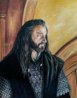 Thorin Oakenshield by mslaurnq