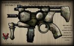 SMG: Damascus Firearms Model 3 by Sathiest-Emperor