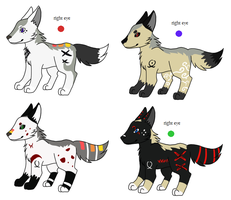 Pup Litter 34 by LizzysAdopts